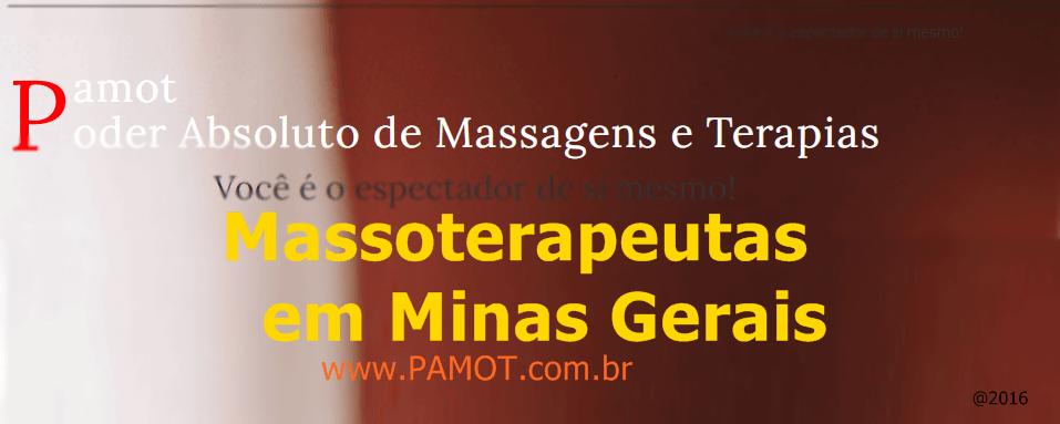 Massoterapeutas em Minas Gerais
