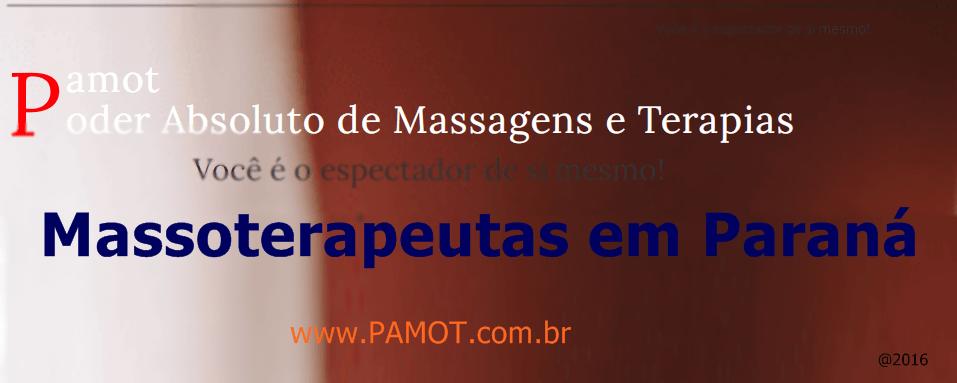Massoterapeutas em Paraná