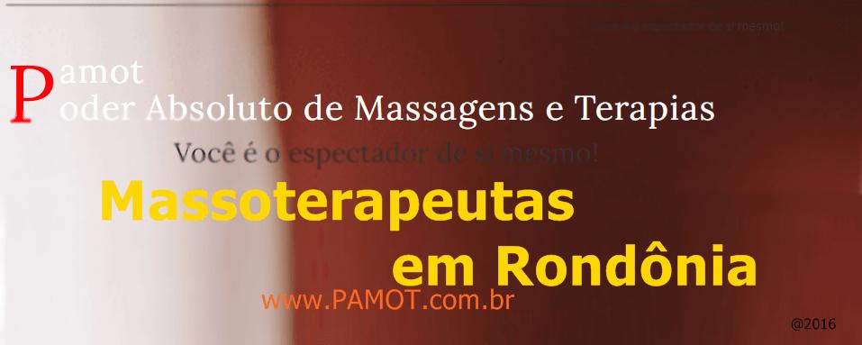 Massoterapeutas em Rondônia