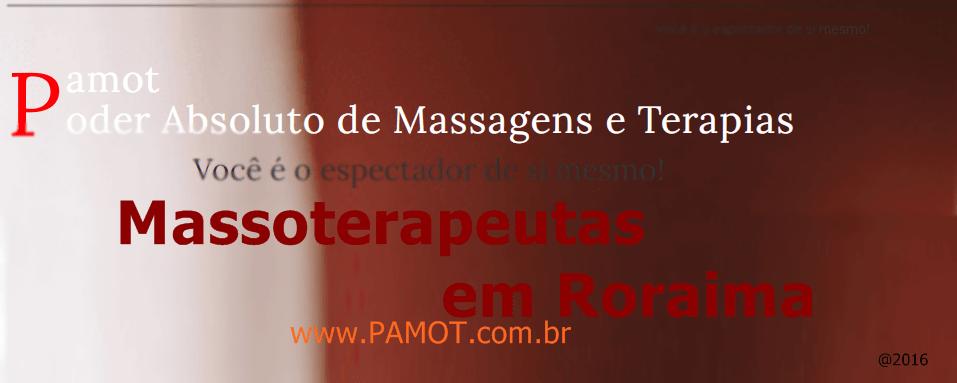 Massoterapeutas em Roraima