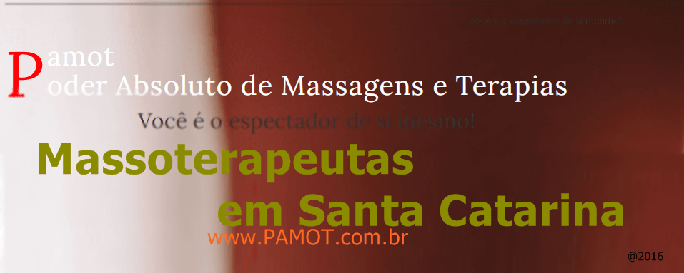 Massoterapeutas em Santa Catarina